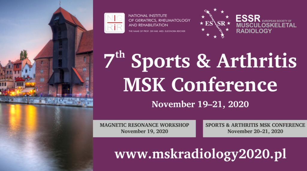 7th Sports & Arthritis MSK Conference Hip and Pelvis @ Hotel Mercure Gdańsk Stare Miasto****